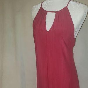 3/$20 Red halter dress
